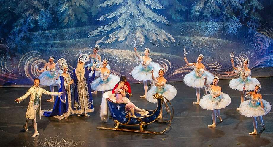 "The Snow Scene from Moscow Ballet's ""Great Russian Nutcracker."" Photo: Moscow Ballet"