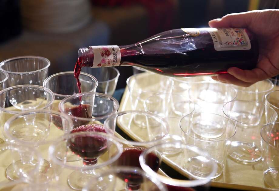 With many looking for ways to show their French solidarity, one SFGATE reader suggested wine lovers purchase a bottle of Beaujolais Nouveau, a special vintage that becomes available worldwide on the third Thursday each November. The wine is meant to be consumed immediately, and, as our Esther Mobley put it, 'It's as close as wine ever comes to instant gratification.' We compiled some other French products you could purchase to show your solidarity to the country by boosting the economy or raising a glass. À votre santé! Photo: AFP / Getty Images