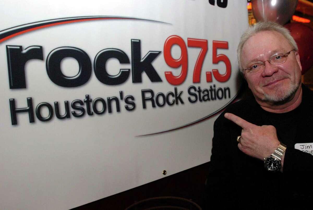 Radio personality Jim Pruett at the launch of the new KIOL 97.5 at the Fox Sports Grill Thursday Jan. 27,2005.