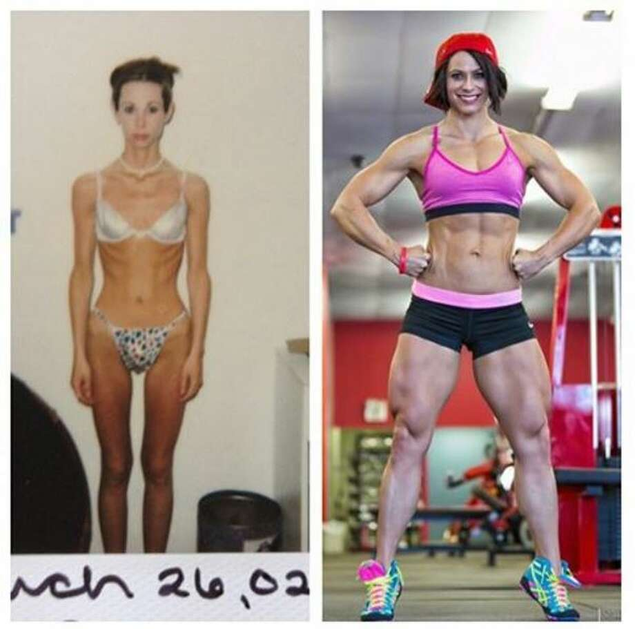 Faced with the potentially fatal effects of anorexia and bulimia, a West Texas woman transformed her life in the gym to become a body builder with an impressive physique and journey to match. Photo: Mendoza, Madalyn S, Provided By Laura Wells Payne