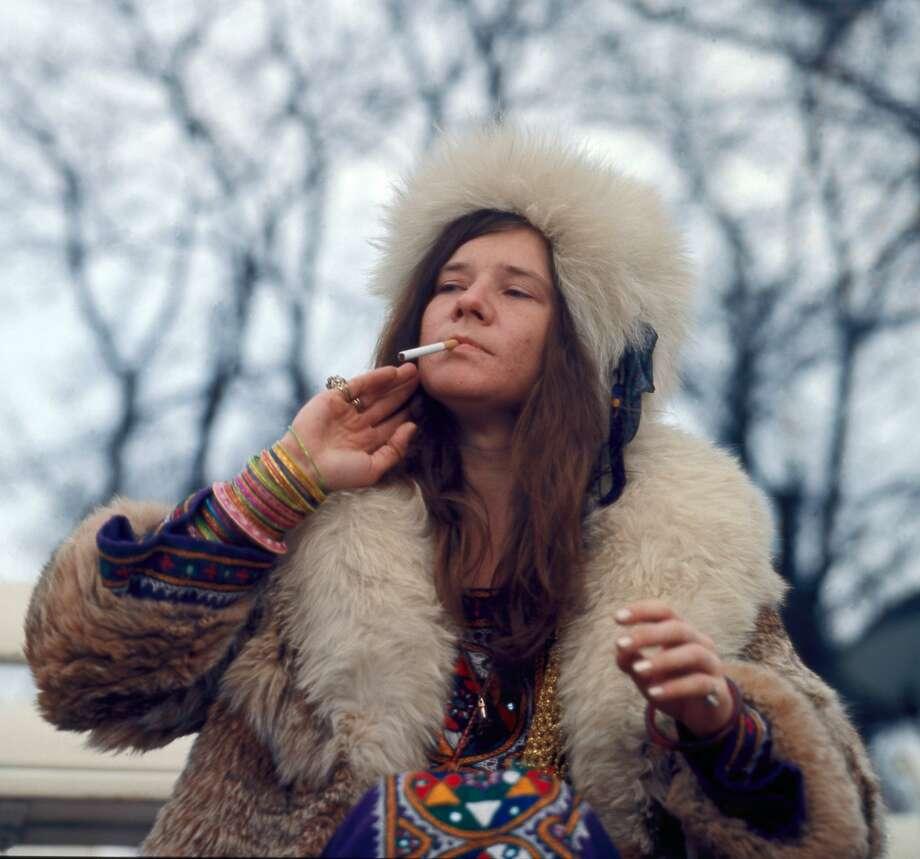 "Image of Janis Joplin from the documentary ""Janis: Little Girl Bllue"" Photo: Film Rise"