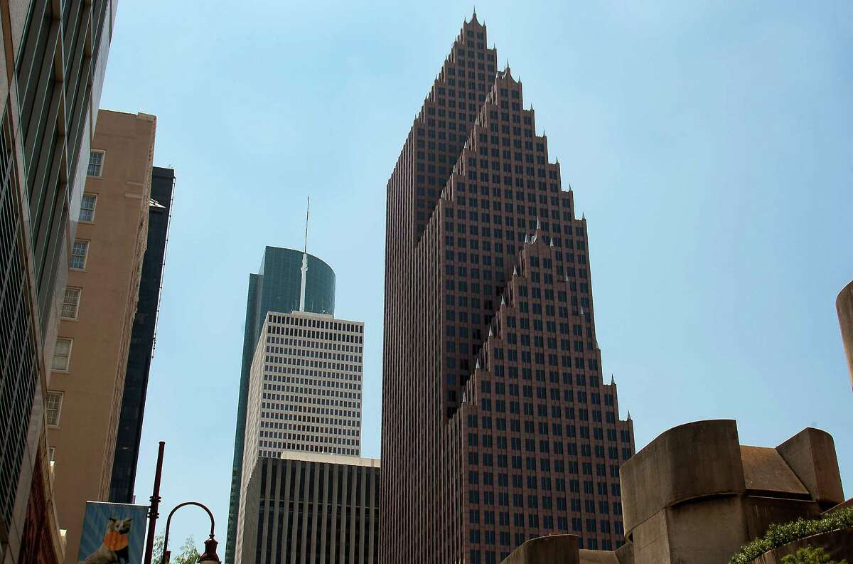 Bank of America Center is one of Louisiana Street's most recognizable buildings. Rents on the street are the area's highest.