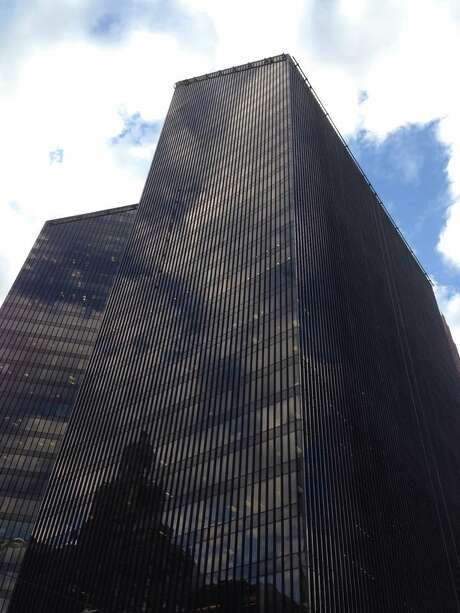 Pennzoil Place in downtown Houston.  Photo: Katherine Feser