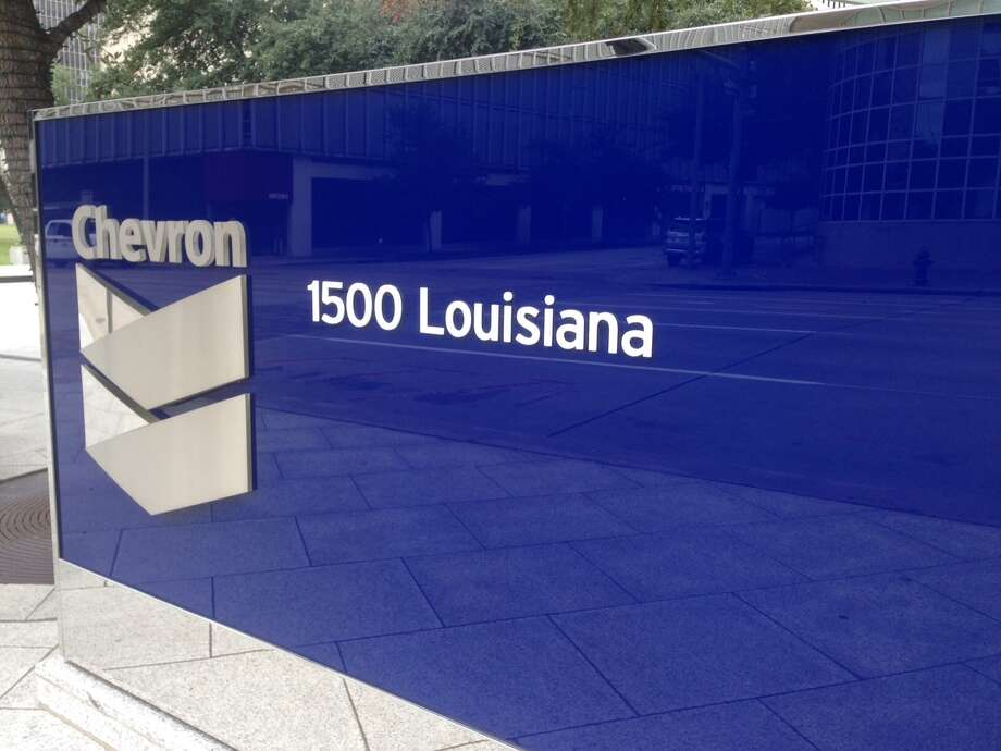 The 40-story 1500 Louisiana building is part of the Chevron Corporation's downtown Houston campus. Chevron, which is headquartered in California, owns the building. Photo: Katherine Feser