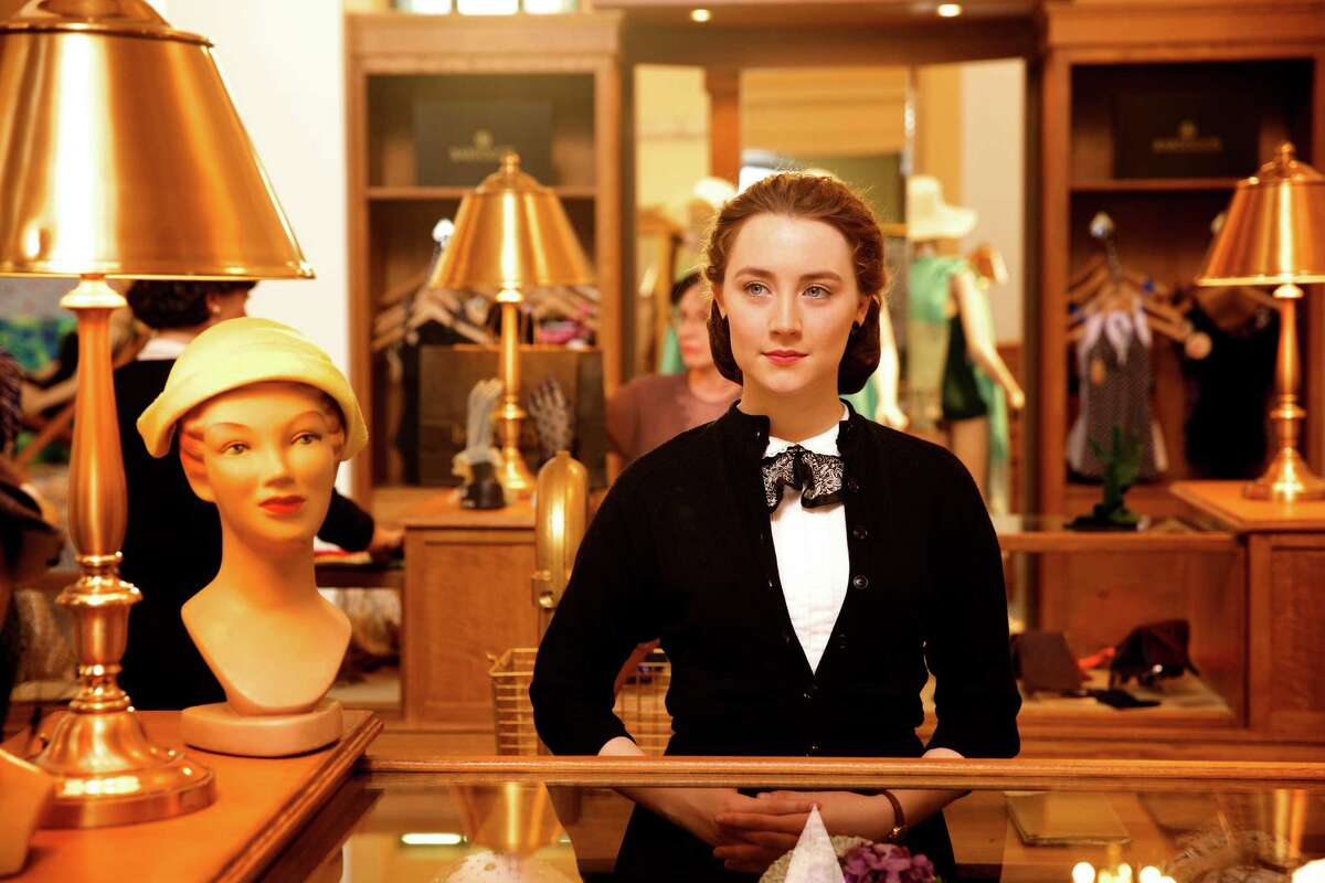 "Saoirse Ronan stars as Eilis, an Irish sales clerk finding her way, in ""Brooklyn."""