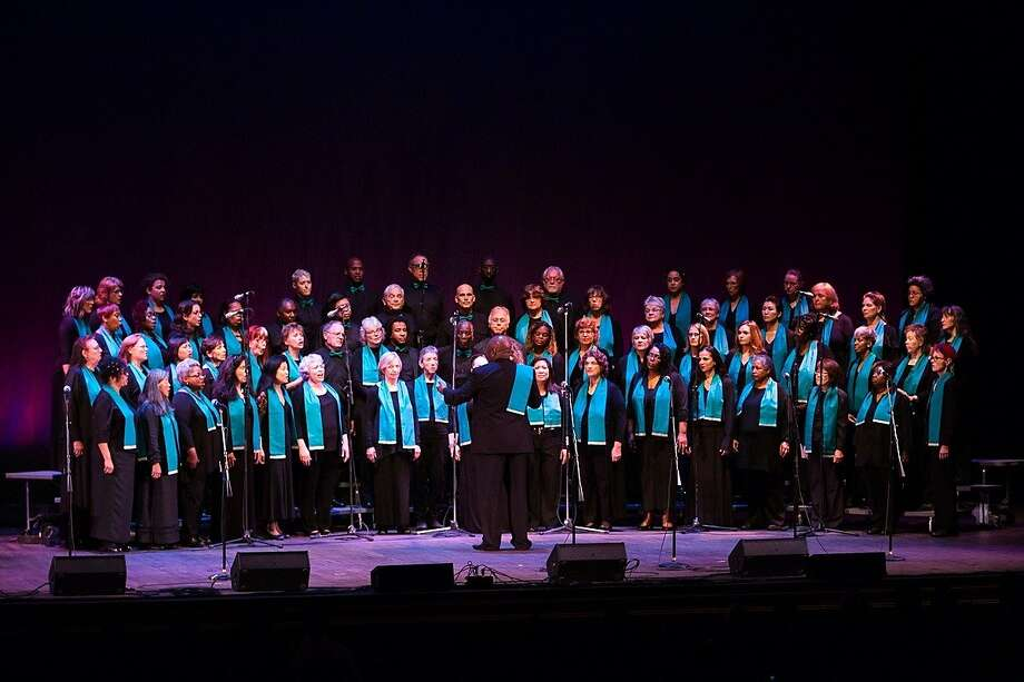 The Oakland Interfaith Gospel Choir in performance. Photo: Oakland Interfaith Gospel Choir
