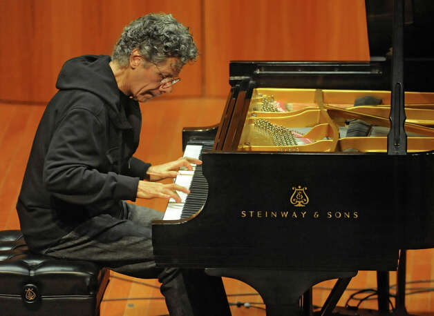 Recent Grammy winner Chick Corea performs a piano jazz concert at the College of Saint Rose's Massry Center for the Arts Wednesday April 4, 2012 in Albany, N.Y. (Lori Van Buren / Times Union) Photo: Lori Van Buren / 00017069A