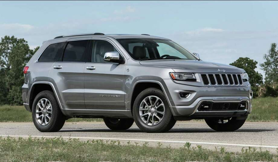 The alleged thieves were caught driving a stolen Jeep Grand Cherokee, like this one. Photo: FPI Studios