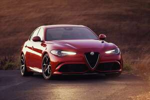 Alfa makes a 505 horsepower splash with stunning Giulia's U.S. debut - Photo