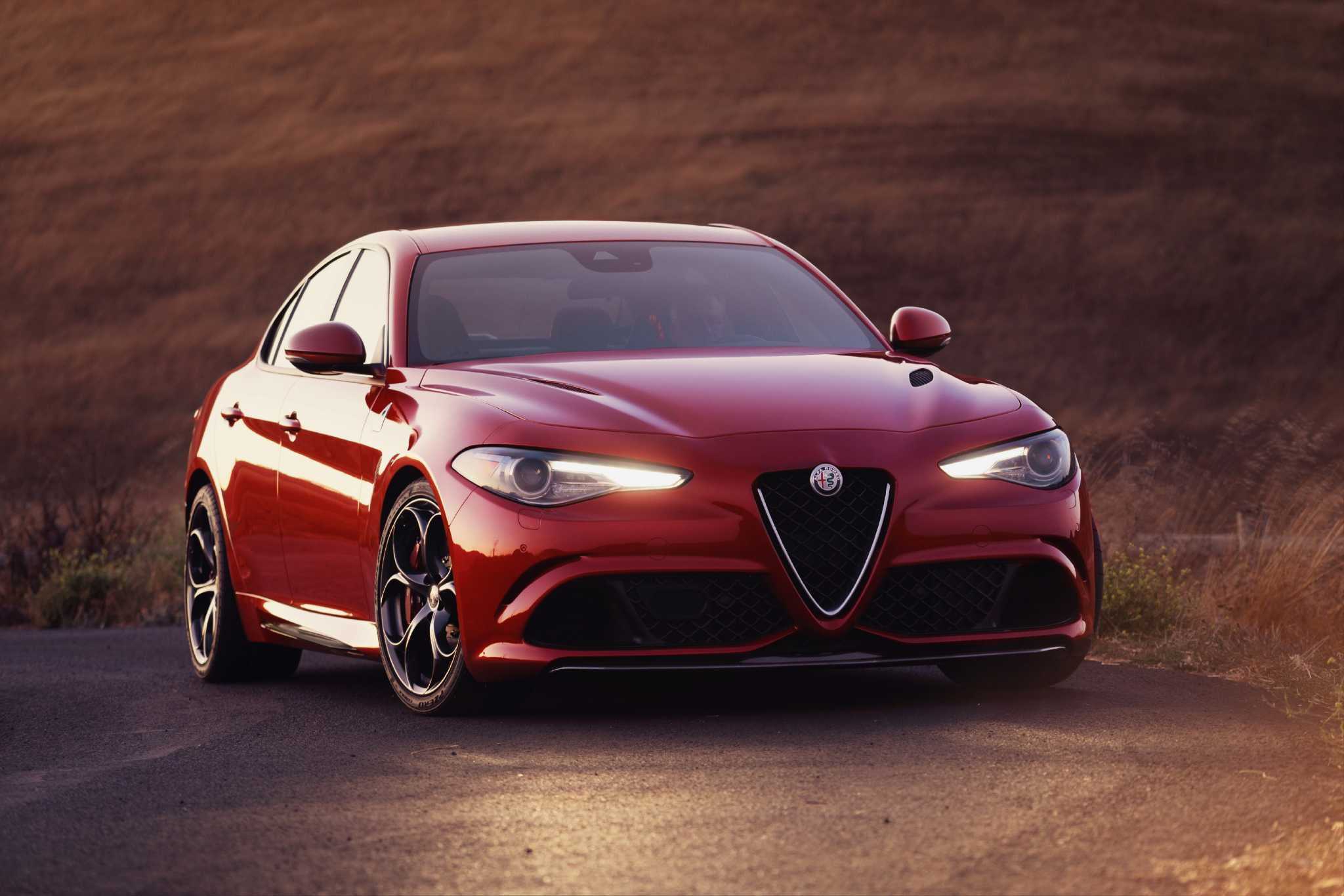 Alfa makes a 505 horsepower splash with stunning Giulia's U.S. debut