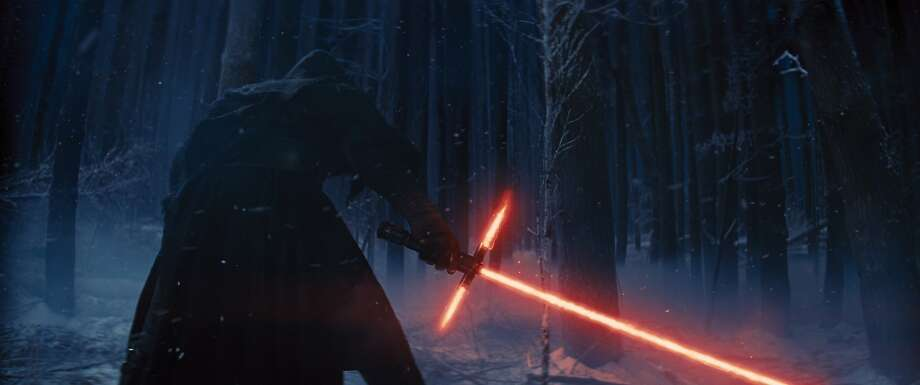 "In this image released by Disney, a scene is shown from the upcoming film, ""Star Wars: The Force Awakens,"" expected in theaters on Dec. 18, 2015. (AP Photo/LucasFilm, Disney) Photo: Associated Press"