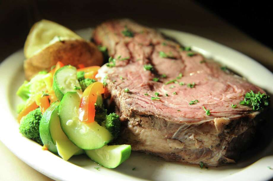 Prime Rib dinner on Thursday, Nov. 5, 2015, at Jackson's Old Chatham House in Old Chatham, N.Y. (Cindy Schultz / Times Union) Photo: Cindy Schultz / 00034087A
