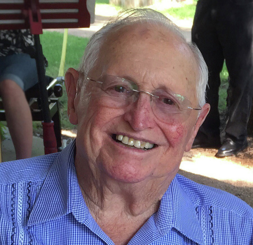 2. The G stands for Germano. A Louisiana native, he moved to San Antonio after serving in World War II, and he attended business courses at St. Mary's University.