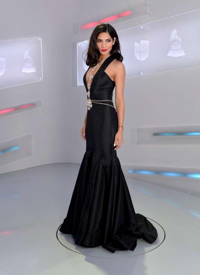 LAS VEGAS, NV - NOVEMBER 19:  Model Alejandra Espinoza attends the 16th Latin GRAMMY Awards at the MGM Grand Garden Arena on November 19, 2015 in Las Vegas, Nevada.  (Photo by Rodrigo Varela/WireImage) Photo: WireImage