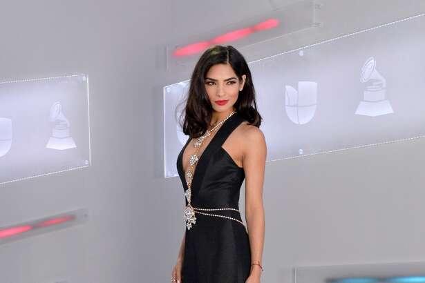 LAS VEGAS, NV - NOVEMBER 19:  Model Alejandra Espinoza attends the 16th Latin GRAMMY Awards at the MGM Grand Garden Arena on November 19, 2015 in Las Vegas, Nevada.  (Photo by Rodrigo Varela/WireImage)