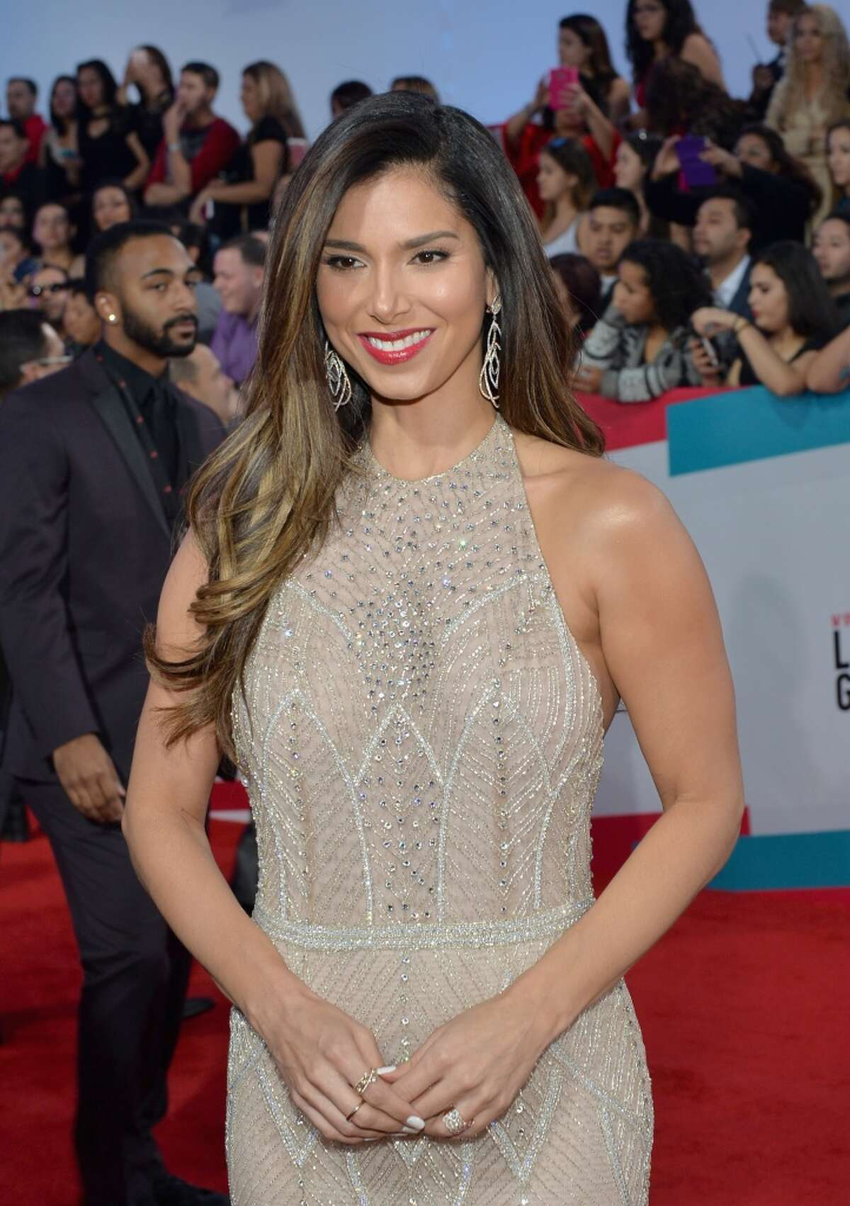 LAS VEGAS, NV - NOVEMBER 19: Singer/actress Roselyn Sanchez attends the 16th Latin GRAMMY Awards at the MGM Grand Garden Arena on November 19, 2015 in Las Vegas, Nevada. (Photo by Rodrigo Varela/WireImage)