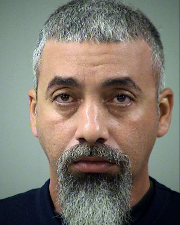 Mariano Talavera, 38, was arrested after allegedly trespassing at a local mosque. Photo: Bexar County Sheriff's Office