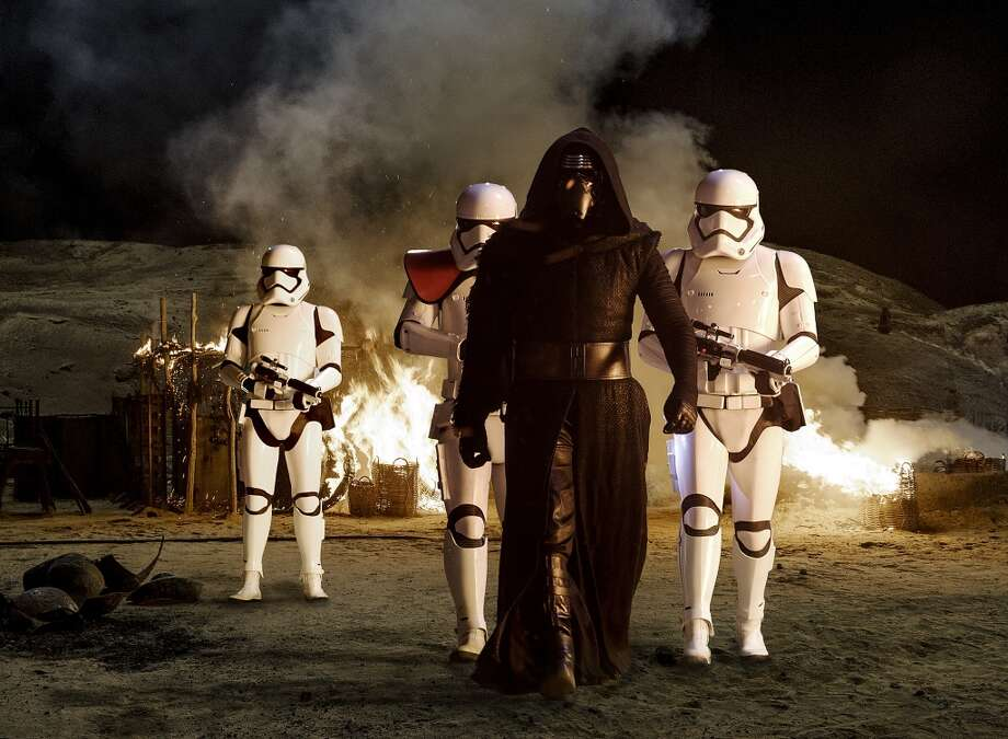 STAR WARS: THE FORCE AWAKENSOpening date: Dec. 17Why you should see it: Our national space folk tale continues with new characters, new lightsabers and good ol' Harrison Ford and Chewbacca. Don't have tickets yet? Good luck seeing it in 2015. Photo: Lucas Films, Lucas Film