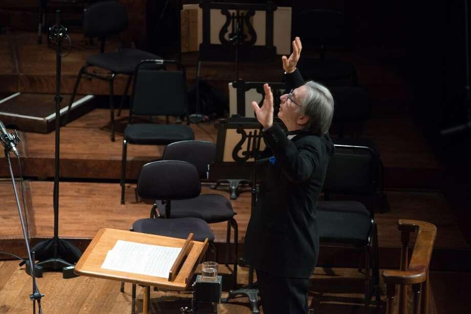 Michael Tilson Thomas conducting the San Francisco Symphony Photo: Kristen Loken