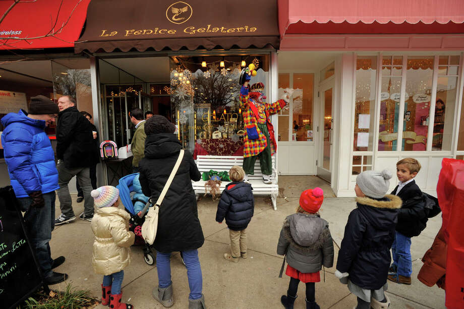 Stores in Greenwich, Conn. enjoyed an 11 percent increase in sales in 2014, according to data released in November 2015 by the Connecticut Department of Revenue Services. Photo: Jason Rearick / File / Stamford Advocate