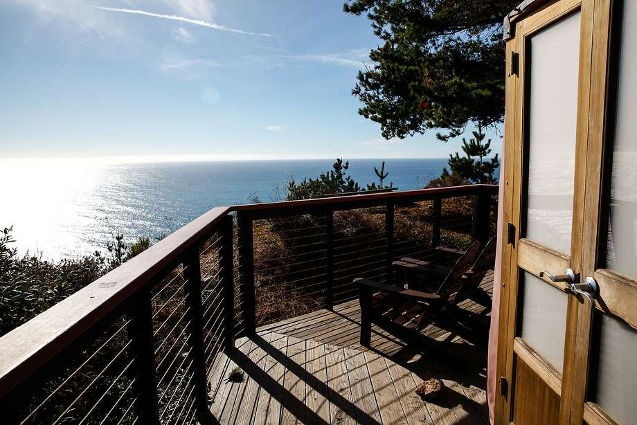 The view from one of the yurts at Treebones Resort in Big Sur. Photo: Sarah Rice, Special To The Chronicle