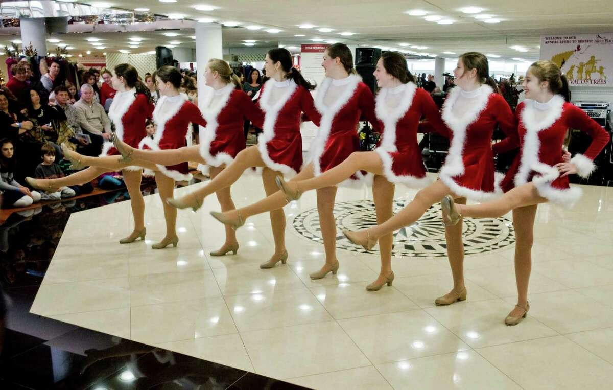 Dancers from the Brookfield School of Performing Arts entertained visitors at the 12th annual Ann's Place Festival of Trees held at the Matrix Conference & Banquet Center in Danbury. Will perform this Saturday at 1 p.m.