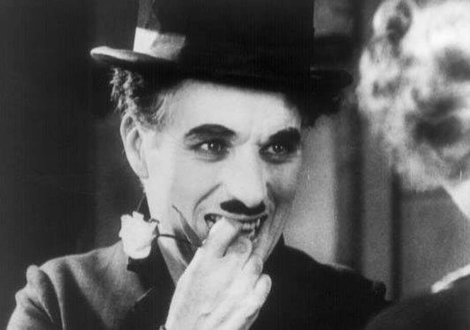 "Charlie Chaplin in his classic ""City Lights,"" another recommendation in Schickel's book. Photo: Courtesy Photo"
