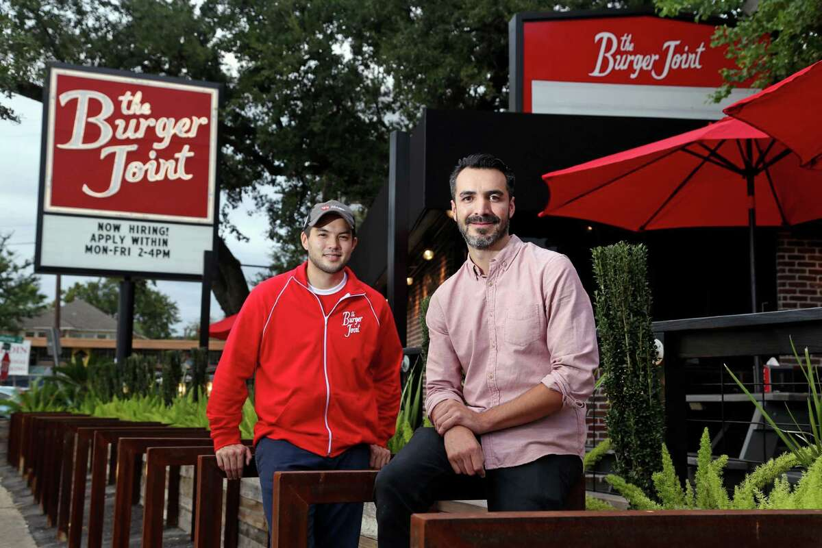 Matthew Pak, left, and Shawn Bermudez appear to have a hit on their hands with the Burger Joint.