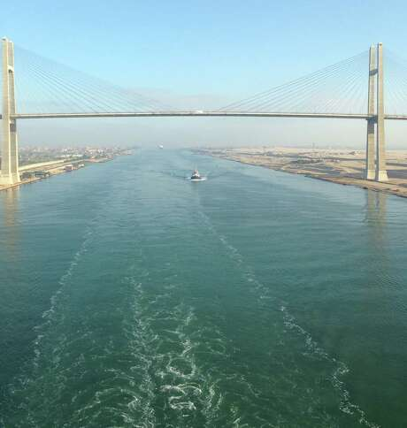 Chronicle reader Kay Black of Rosenberg submitted this vacation photo taken on a cruise along the Suez Canal. Photo: Kay Black / Kay Black