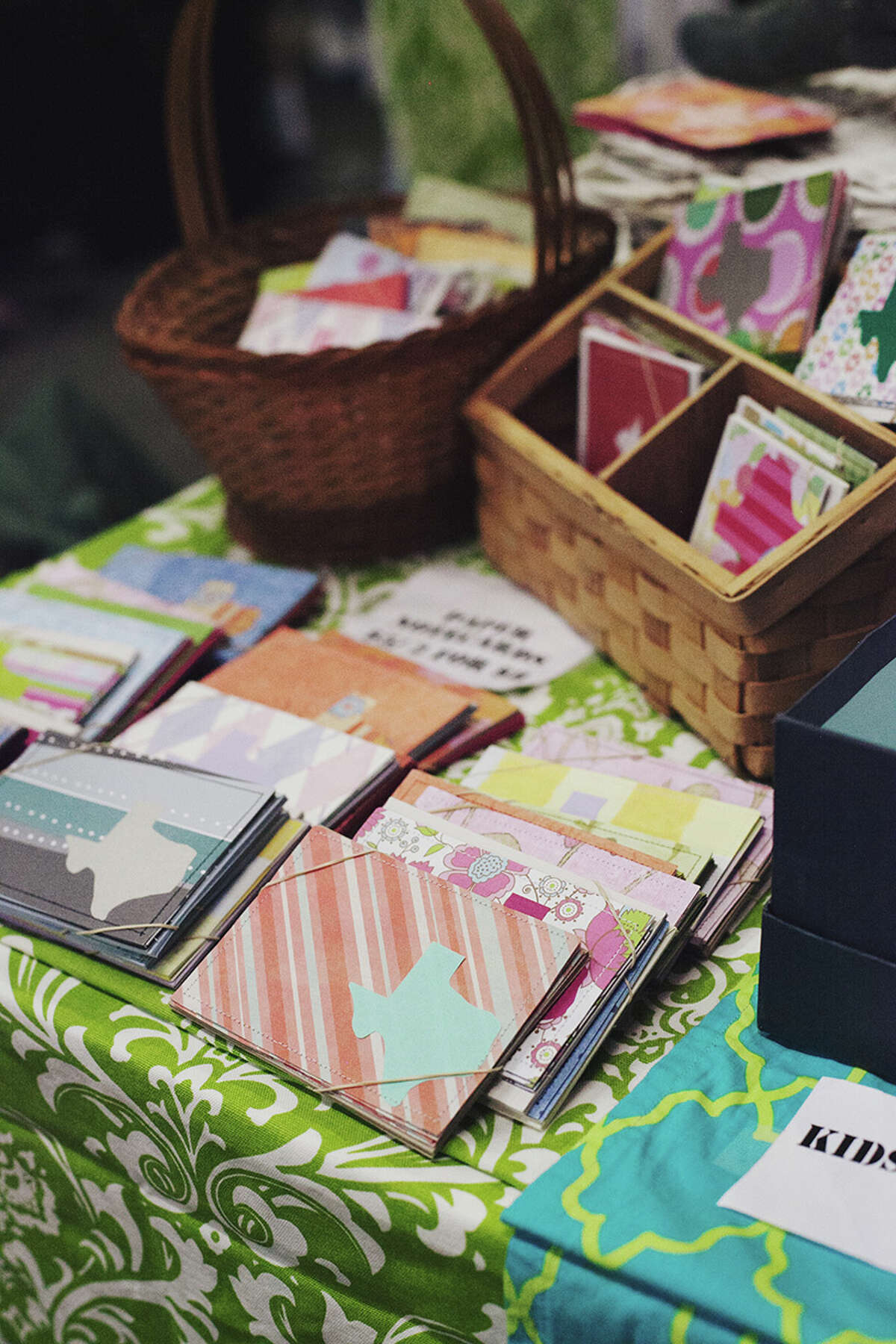 Handmade cards sold by the Austin-based PS Paper Shoppe.