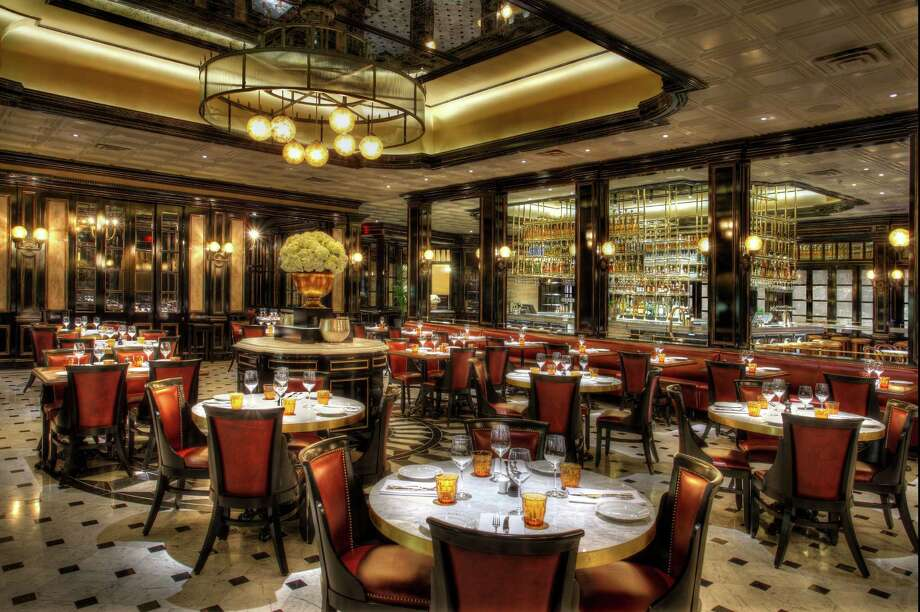 The dining room at Bardot Brasserie from James Beard Award-winning chef Michael Mina at Aria Resort & Casino Las Vegas. Photo: Aria Resort & Casino