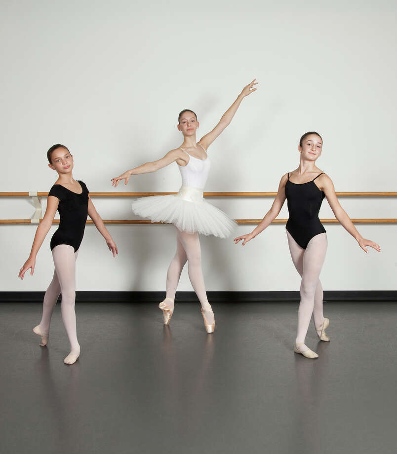 Greenwich students from left Molly McAndrew, Taylor DeVito and Annie Wilson will be performing in the Ballet Etudes Company production of The Nutcracker, set for  1 to 4 p.m. Dec. 5, 6 and 12 at the Westport Country Playhouse. Tickets are now on sale. For Tickets and more information, call the Westport Playhouse box office at 203-227-4177. Photo: Contributed / Contributed Photo / Greenwich Time Contributed