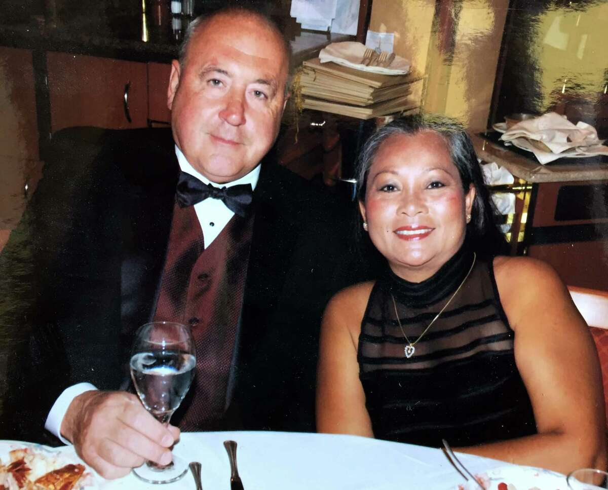 Val Horsa and Taew Robinson, owners of a Thai restaurant in Danbury. The two are believed to have been in a small Cessna airplane that disappeared on Thursday while headed toward Danbury Airport.