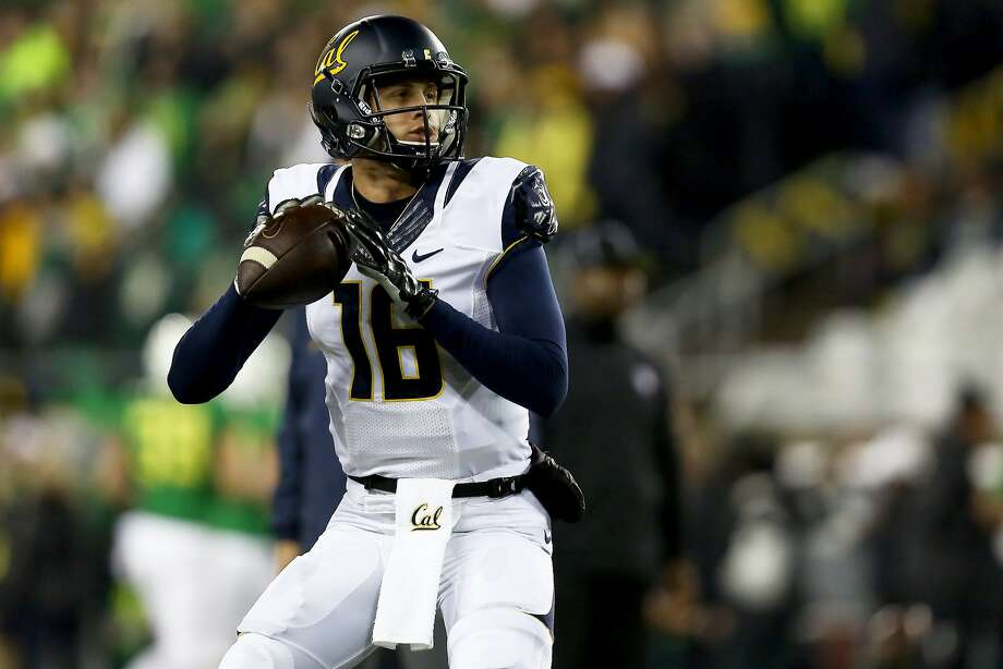 Cal quarterback Jared Goff has set 26 school records, but he hasn't beaten Stanford. Photo: Ryan Kang, Associated Press