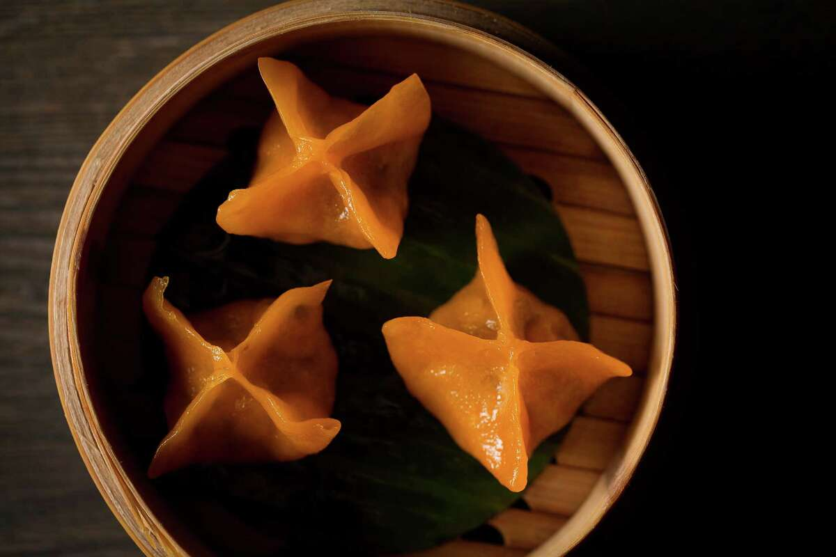 Hakkasan Group plans to launch Yauatcha, a modern Chinese dim sum restaurant and teahouse, in partnership with Simon Property Group at the Galleria. The restaurant, which has earned a Michelin star for its original London location (the brand has two locations in London and four in India). Houstonís Yauatcha is scheduled to open in fourth quarter 2016. These are crystal dumplings wrapped with pumpkin.
