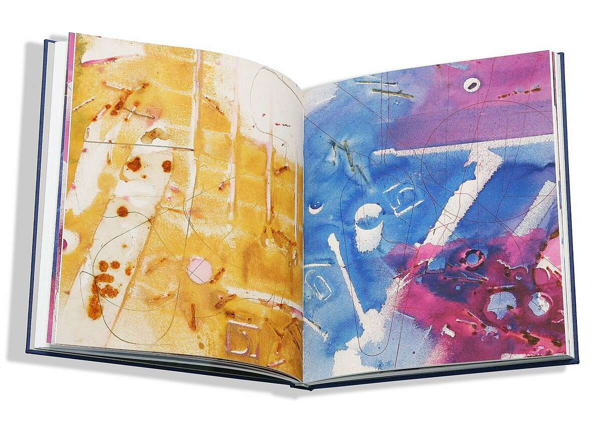 """Drawings by Liam Everett. Co-published by RITE Editions, San Francisco, Altman-Siegel Gallery, San Francisco and On Stellar Rays, New York City. 2015. Special edition artist's book. Full color, clay pigment printed. Hard cover. Stitch bound. Limited edition of 45 and 5 APs. Signed, dated and numbered. Text by Bruno Tollon and an essay by Rabih Alameddine. 11 ?- 9"""". $850."""