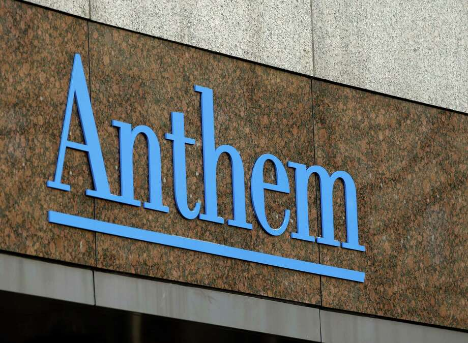 FILE - This  Dec. 3, 2014, file photo, shows the Anthem logo at the company's corporate headquarters in Indianapolis.  Aetna Inc. and the Blue Cross-Blue Shield carrier Anthem Inc. each reaffirmed on Friday, Nov. 20, 2015 their 2015 earnings forecasts. They also said their commercial business has developed as expected through October. That includes insurance sold on the exchanges, a key component in the Affordable Care Act's  push to expand insurance coverage.(AP Photo/Darron Cummings, File) Photo: Darron Cummings, STF / AP