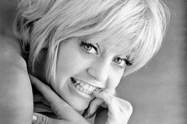 American actress Goldie Hawn in a promotional portrait for 'Cactus Flower', directed by Gene Saks, 1969.
