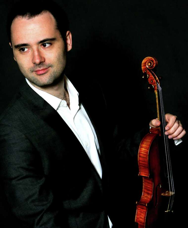 Violinist David Lisker will perform Nov. 21 at the next Music for Youth concert at the Pequot Library. Photo: Contributed / Contributed Photo / Fairfield Citizen
