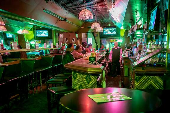 The interior of Uncle Charlie's bar in San Francisco, Calif. is seen on Friday, November 20th, 2015.