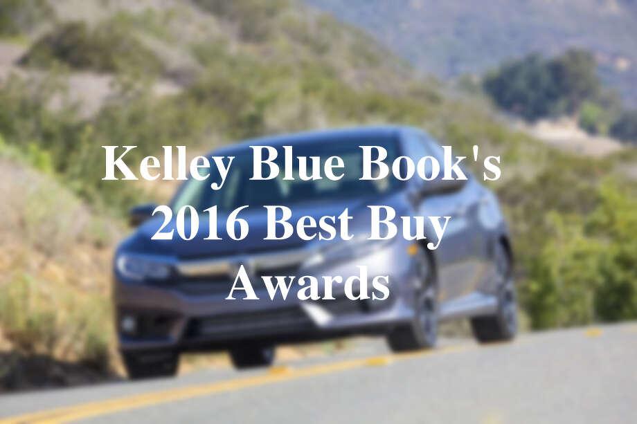 Kelley Blue Book's 2016 Best Buy Awards Photo: Courtesy Photo