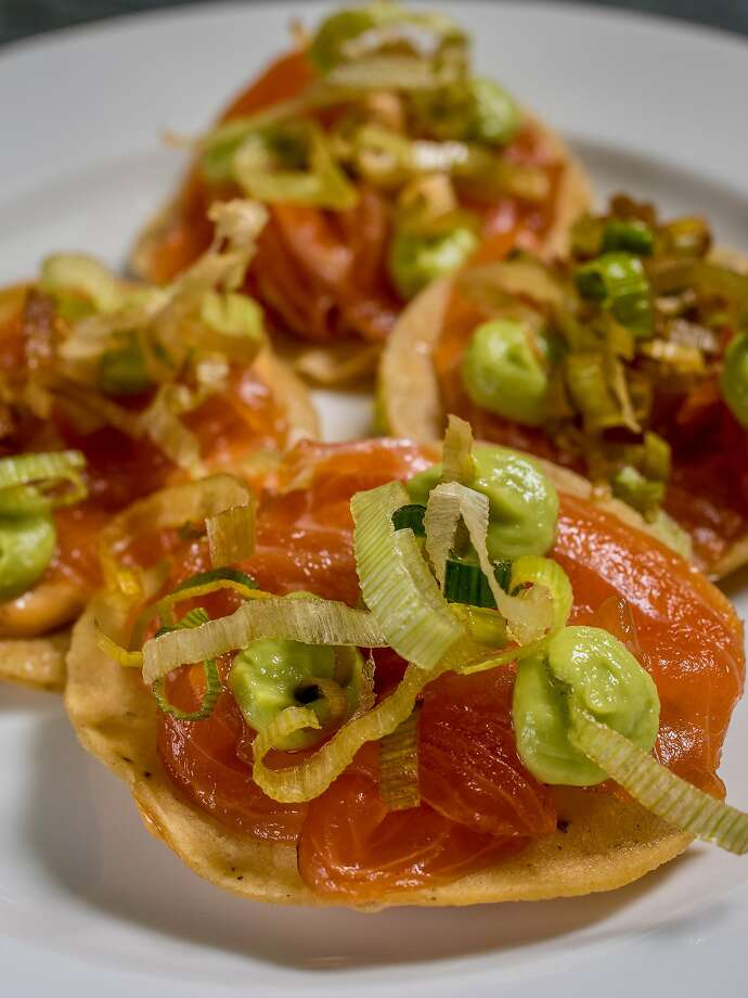 The Trout Tostada at Cala. Photo: John Storey, Special To The Chronicle
