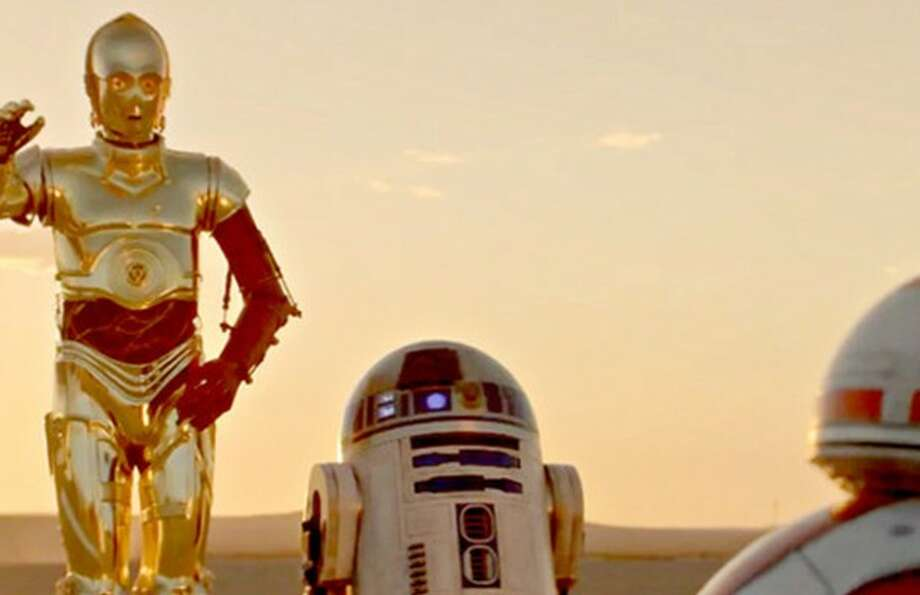 C-3P0 and R2D2
