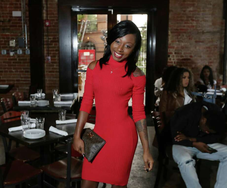 """Jade Buster poses for a portrait during a casting call """"Bad Girls Club,""""  Saturday, Nov. 21, 2015, in Houston. Photo: Jon Shapley, Houston Chronicle / © 2015 Houston Chronicle"""