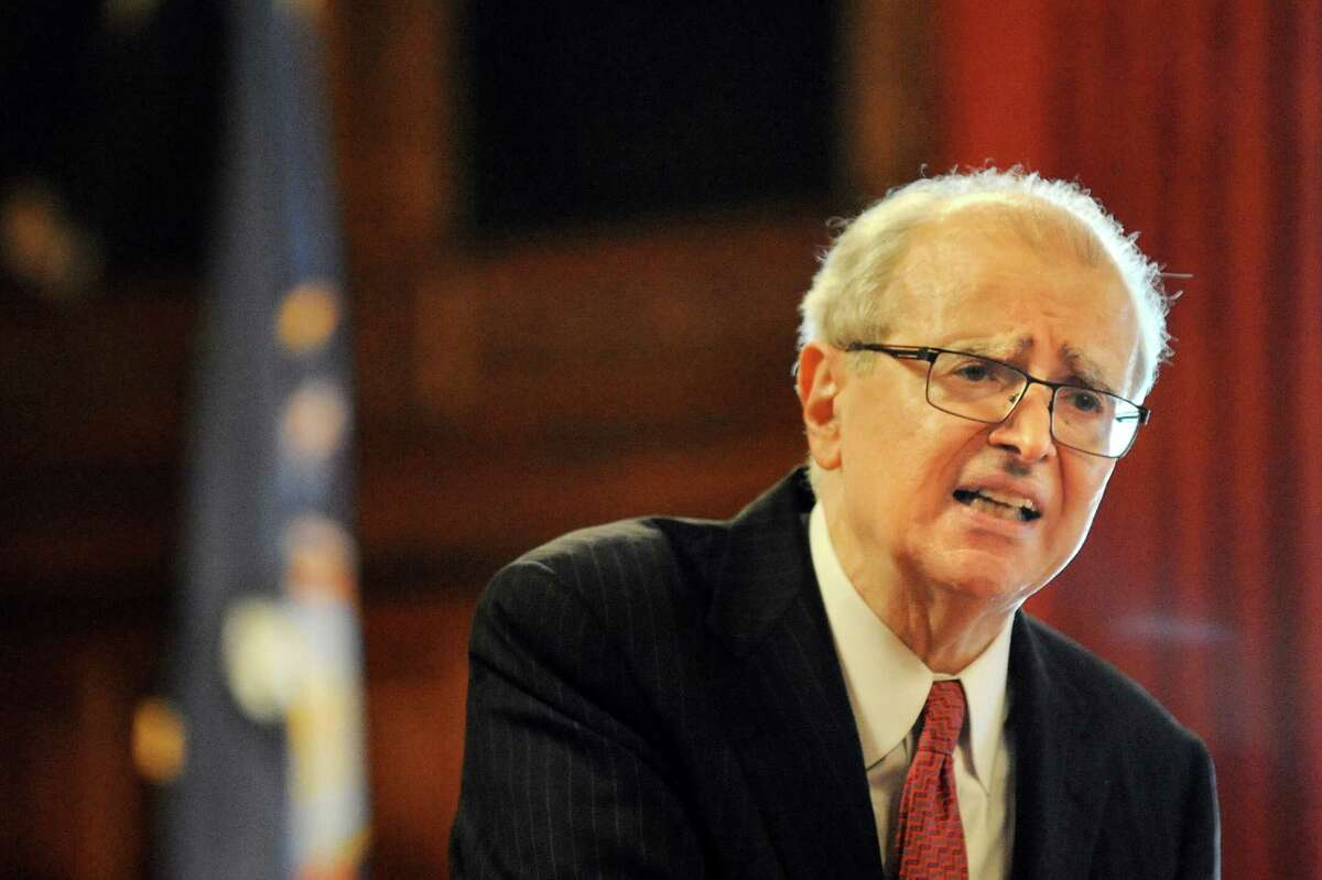 When he was chief judge, Jonathan Lippman wrote the forward to a 2011 state court system and New York State Bar Association manual addressing legal and court matters to be considered during a pandemic.  (Cindy Schultz / Times Union)