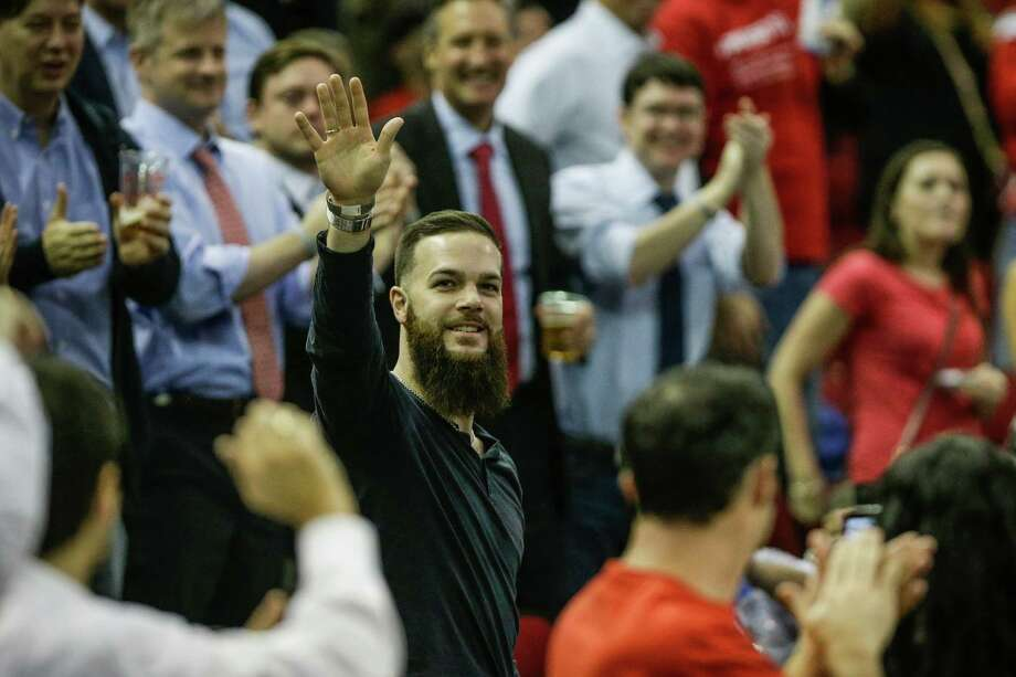 Astros ace Dallas Keuchel is set for a big raise in his first offseason as an arbitration-eligible player. Photo: Brett Coomer, Staff / © 2015 Houston Chronicle