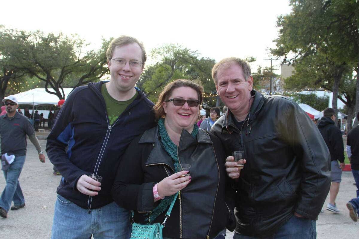 Hundreds of patrons got the chance to sample hundreds of different types of beer during the Untapped Beer and Music Festival held at the Lone Star Brewery Nov. 21, 2015, in Southtown.