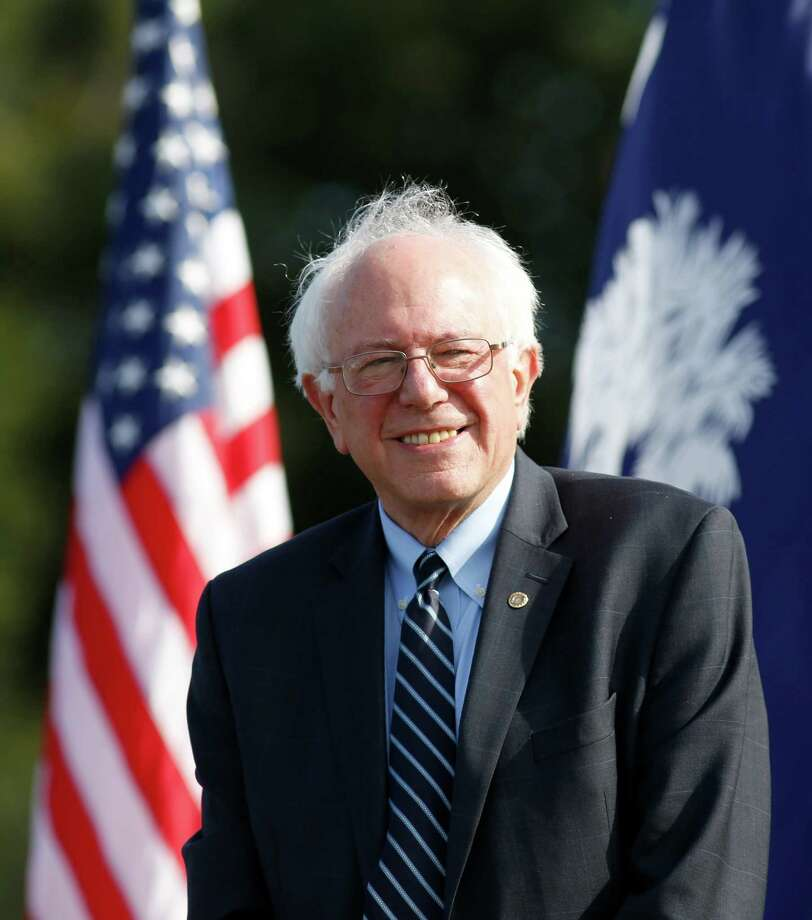 Democratic presidential candidate Sen. Bernie Sanders, I-Vt., waits to speak to the crowd at the Jenkins Orphanage in North Charleston, S.C., Saturday, Nov. 21, 2015, during the Blue Jamboree event. (AP Photo/Mic Smith) Photo: Mic Smith, FRE / Associated Press / FR2 AP