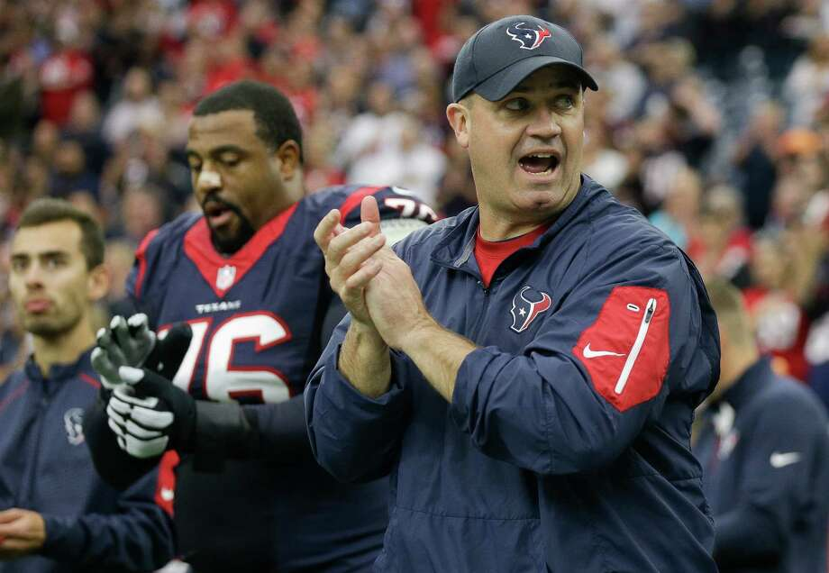 Texans coach Bill O'Brien's philosophy includes treating each game as if it's an entire season. Photo: Brett Coomer, Staff / © 2015  Houston Chronicle