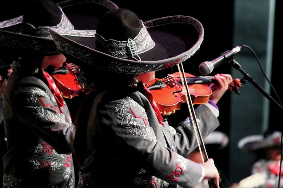 As part of the annual Mariachi Vargas Extravaganza music celebration, group completions were held at the Lila Cockrell Theatre Friday night. Here's a look at the action from one of the world's largest mariachi music festivals. Photo: By Jason Gaines, For MySA.com